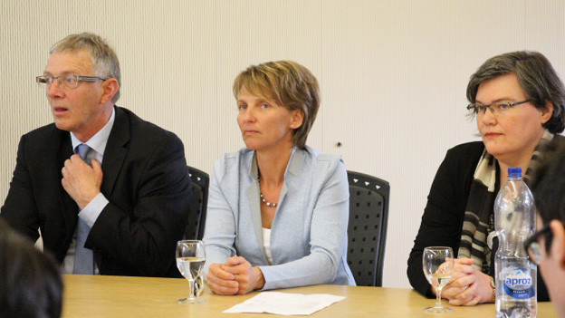 CVP-Vizepräsidentin Therese Rotzer steht mit ihrer Partei vor einem schwierigen zweiten Wahlgang