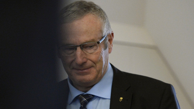 Seine Kandidatur wird zurückgezogen: Justizdirektor Alois Bissig.