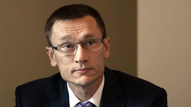 Adi Achermann - Kommandant ad interim der Luzerner Polizei