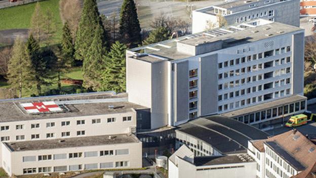 Das Urner Kantonsspital soll für 100 Millionen Franken um- und ausgebaut werden.