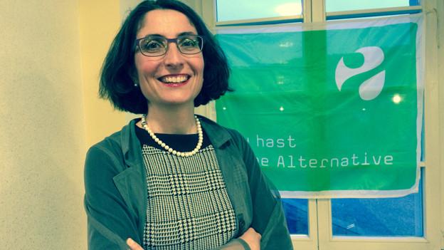 Manuela Weichelt will in der Zuger Regierung bleiben.