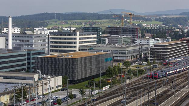 Die Stadt Zug als Wirtschaftszentrum