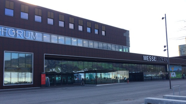Neue Messehallen auf der Luzerner Allmend