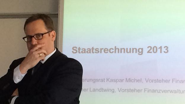 Der Schwyzer Finanzdirektor Kaspar Michel