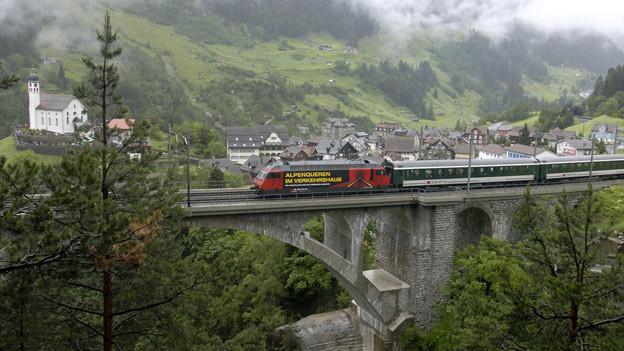 Gotthardkantone sollen auf Bewerbung für Unesco Label verzichten.