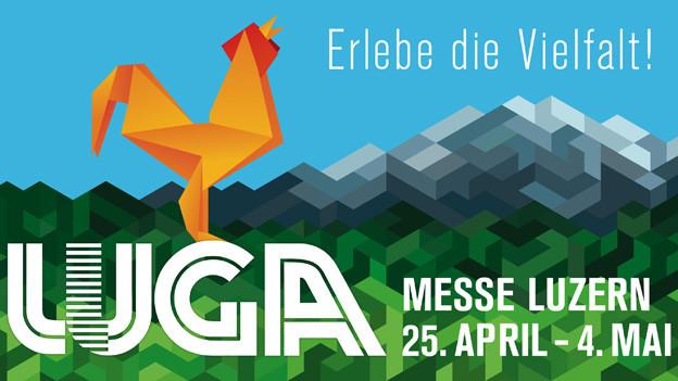 Die Luga findet die nächsten 10 Tage auf der Luzerner Allmend statt