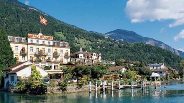 Hotel Beau Rivage in Weggis