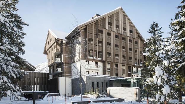 Luxushotel Chedi hat sich auf die Übernachtungszahlen im ganzen Kanton Uri positiv ausgewirkt.