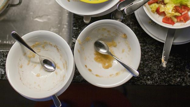 Vor allem Suppen und Spätzli waren nicht immer hygienisch.
