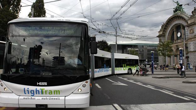 Die Busse der vbl waren 2013 gut gefüllt.