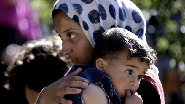 Im Luzerner Asylzentrum «Hirschpark» werden vor allem Familien aus Syrien erwartet