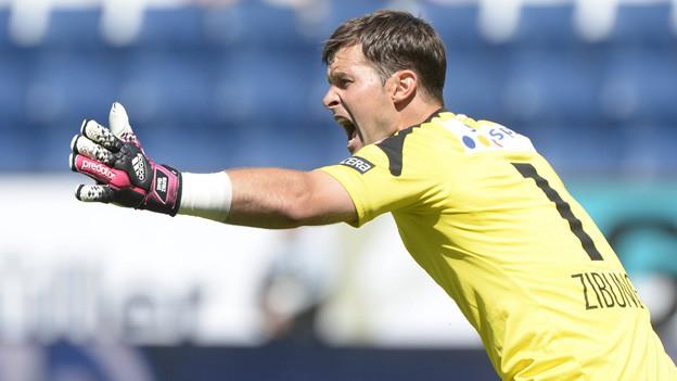 FCL-Goalie David Zibung war viermal geschlagen.
