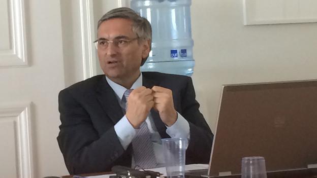 Sozialdirektor Guido Graf verfolgt eine neue Asylstrategie