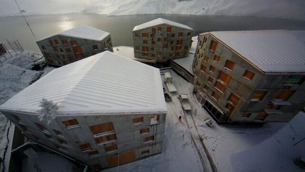 Der Bau des zweiten Hotels auf Melchsee-Frutt wird gestoppt.