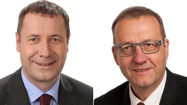 Othmar Filliger und Alfred Bossard haben den Sprung in die Nidwaldner Regierung geschafft.