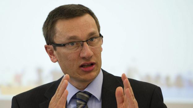Adi Achermann, der künftige Kommandant der Luzerner Polizei.