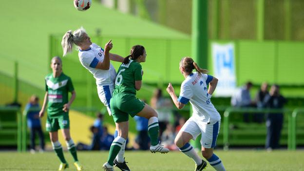 Die Frauenmannschaft des SC Kriens wird nach dem Cup in den FC Luzern integriert.