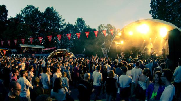 Festivalstimmung auf dem Sonnenberg: Das B-Sides zog 4000 Besucher an.