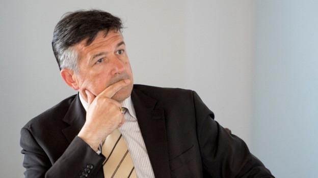 Der Nidwaldner Baudirektor Hans Wicki.