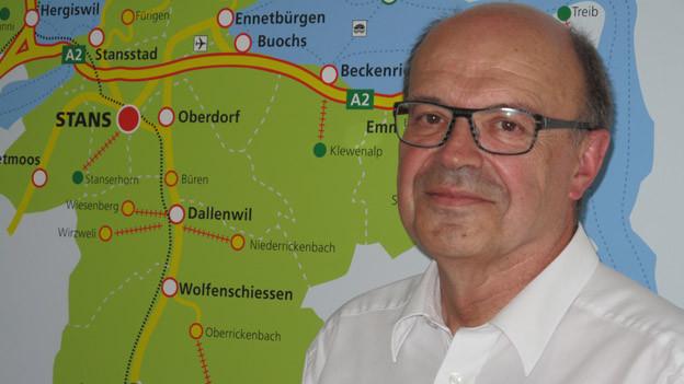 «Bin jeden Tag gerne zur Arbeit gegangen» sagt Gerhard Odermatt nach 12 Amtsjahren.