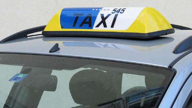 Die Taxis mit blauweisser Lampe haben eine Bewilligung und erfüllen die nötigen Qualitätskriterien