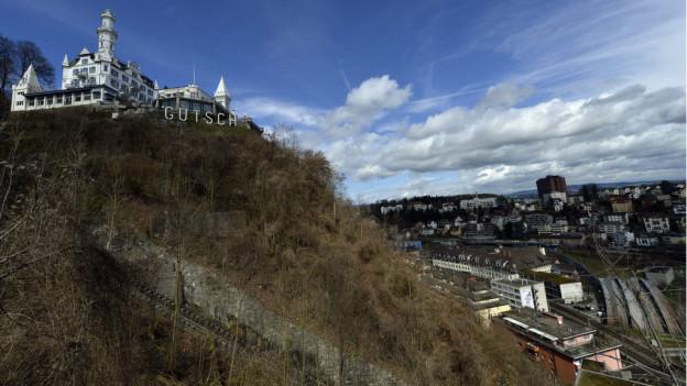 Soll die Bahn auf den Gütsch wieder fahren? Luzerner Stadtparlament ist sich nicht einig.