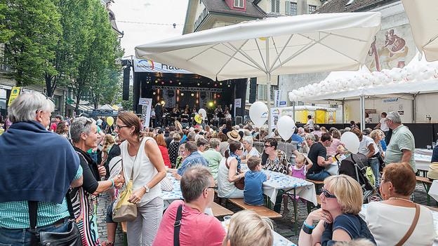 Der Erlös des Luzerner Fests ist für einen guten Zweck.