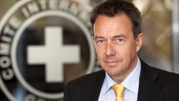 Der IKRK-Präsident Peter Maurer ist auch als Historiker an Schlachten interessiert.