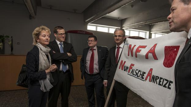 Schwyzer Regierung will weniger in den Finanzausgleich zahlen.