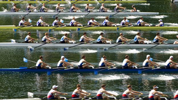 564 Boote starten dieses Jahr an den Schweizer Meisterschaften auf dem Rotsee.
