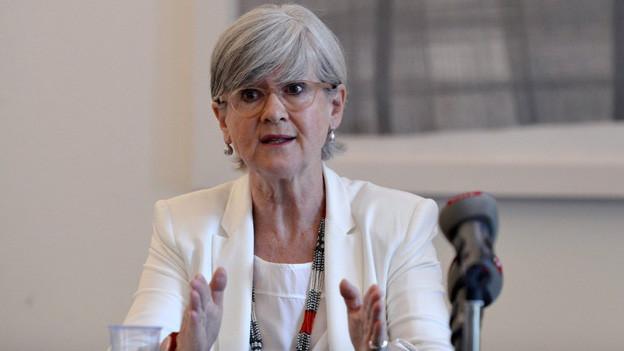 Regierungsrätin Yvonne Schärli hat nach 12 Jahren genug.