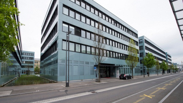 Bürogebäude in Zug.