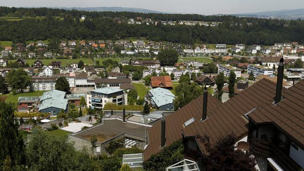 Ebikon hat zwischenzeitlich fast 13'000 Einwohner.