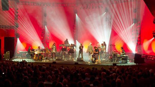Konzert der Söhne Mannheims im Konzertsaal des KKL Luzern.