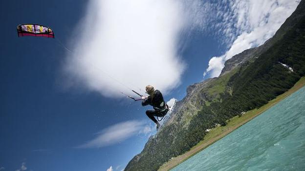 Die Kitesurfer dürfen in Zukunft grössere Sprünge machen.