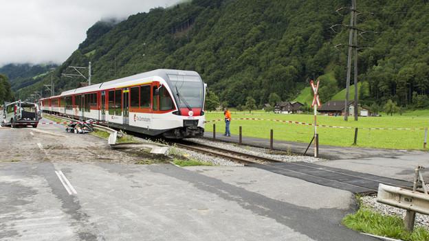 Auch der Bahnübergang, bei dem der jüngste Unfall passierte, soll saniert werden.