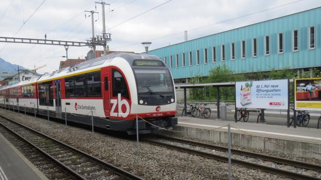 Der Bahnausbau in Obwalden kostet viel Geld.