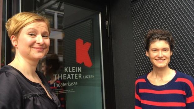 Die zwei neuen Leiterinnen des Luzerner Kleintheaters.