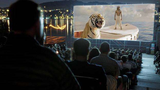 Volle Sitzreihen waren in dieser Open-Air-Kino-Saison selten.