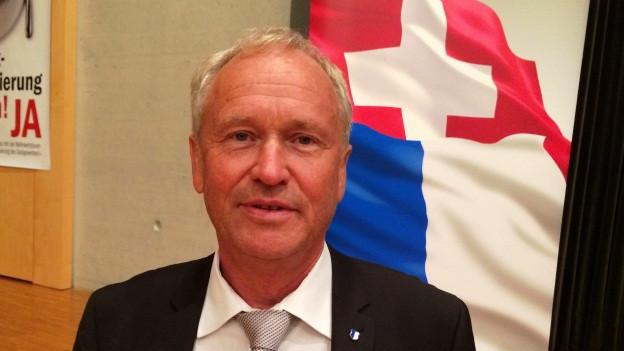 Der 58-jährige Paul Winiker wurde an der Delegiertenversammlung einstimmig nominiert.