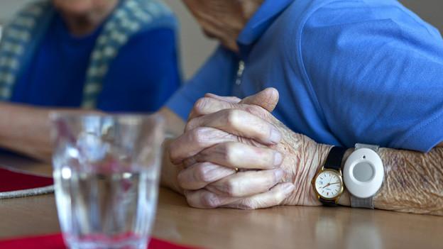 Die Stadt Luzern hat die Altersbetreuung ausgelagert.
