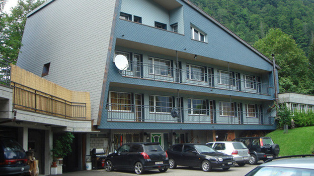 Die ehemalige Jugendherberge in Innerthal