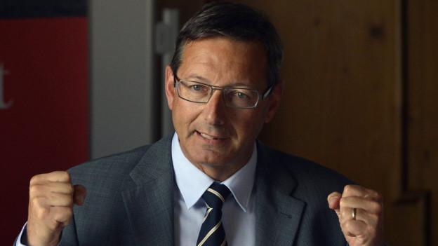 Finanzdirektor Josef Dittli rechnet mit einem Überschuss.