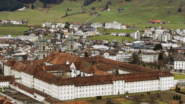 Das Kloster Einsiedeln nimmt vorübergehend Asylsuchende au