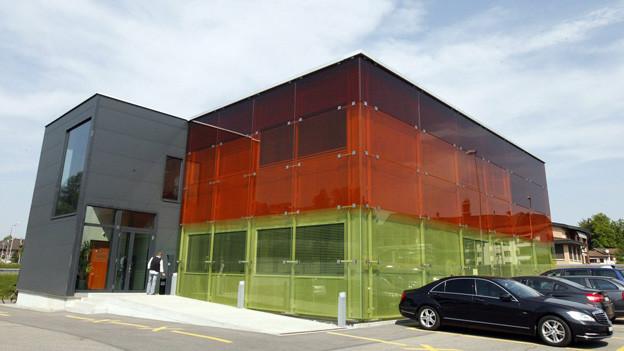 Die Luzerner Verkehrspolizei soll in der Sprengi mehr Platz erhalten.