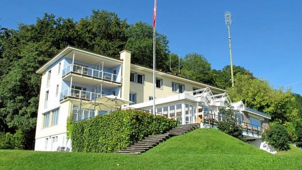 Das Hotel Sonnenberg in Kriens.
