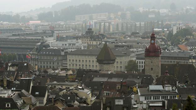Die Stadt Luzern.