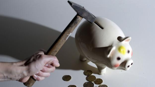 Sparvorschläge kommen unter Druck