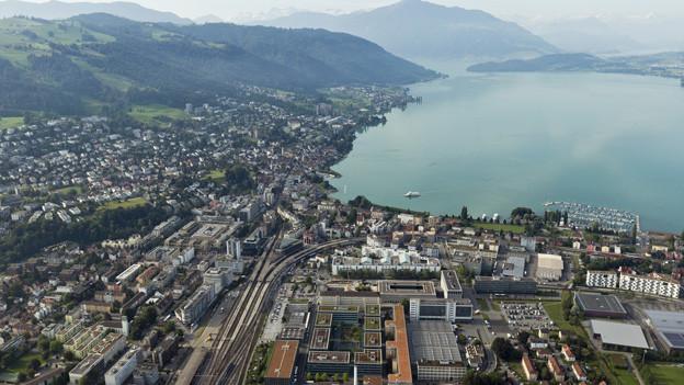 Die finanziellen Aussichten im Kanton Zug waren schon besser.