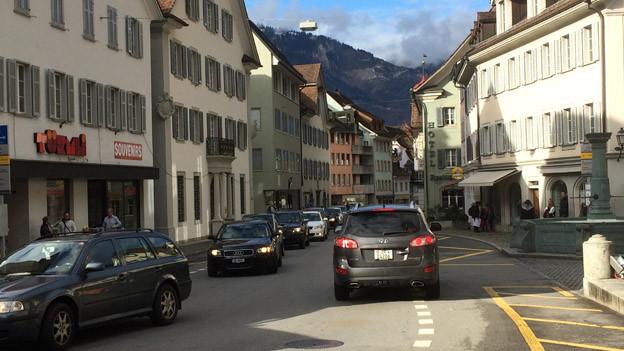 Altdorf leidet am Durchgangsverkehr.